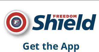 Freedom Shield. Get the app.